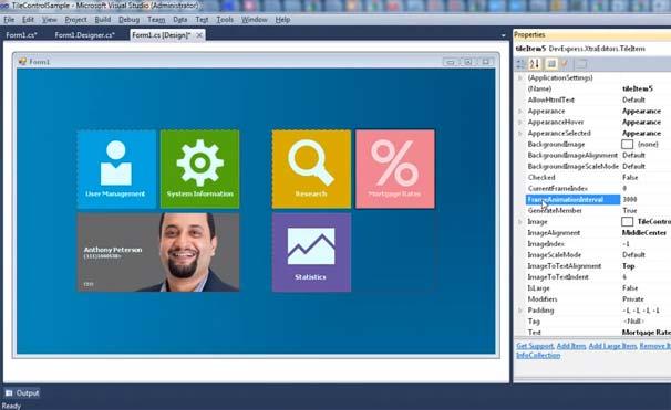 Templates (video gallery) asp. Net ajax image slider control demo.