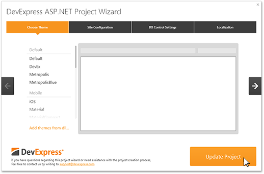 Getting Started | DevExpress Bootstrap Controls for ASP NET